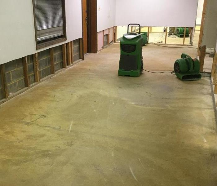 Commercial clean up